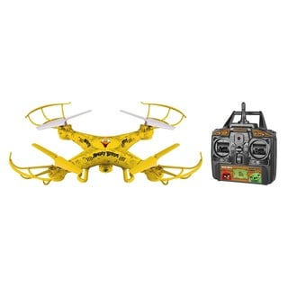World Tech Toys Angry Birds Licensed Chuck Squak-Copter 4.5-channel 2.4 GHz RC Camera Drone