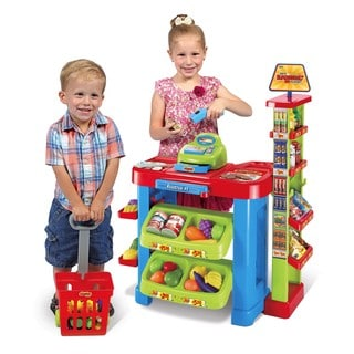 World Tech Toys Kid's Supermarket 47-piece Play Set
