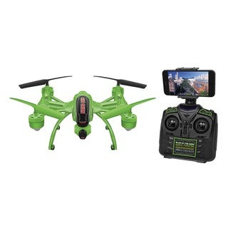 Mini Orion Green Plastic Glow-in-the-Dark 2.4GHz 4.5CH Live Feed Camera RC Drone