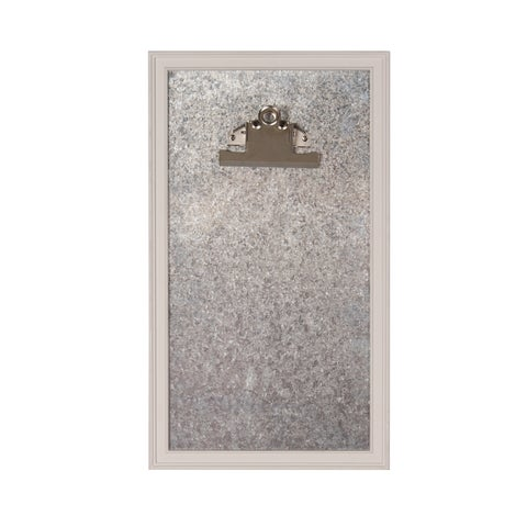 Walcott Framed Magnetic Board w/ Clip Wall Organizer