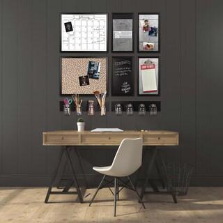 Walcott Wood-framed Magnetic Board w/ Clip Wall Organizer|https://ak1.ostkcdn.com/images/products/13733564/P20392405.jpg?_ostk_perf_=percv&impolicy=medium