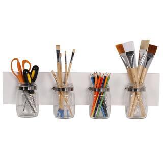 Designovation Ian Mason Jar Decorative Hanging Wall Organizer|https://ak1.ostkcdn.com/images/products/13733565/P20392406.jpg?impolicy=medium