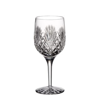 Majestic Gifts Clear Hand-cut Crystal 9-ounce Red Wine Goblet (Pack of 4)