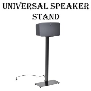 Pyle PSTNDSON17 Universal Standing Speaker-mount Holder/Stand for 2nd Gen Sonos PLAY 5