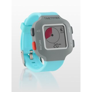 The Time Timer Watch PLUS Sky Blue Small Personal Time Tracker