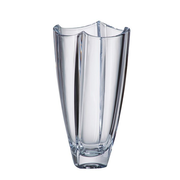 Shop Majestic Gifts Crystalline Glass 10 Inch High Vase Free