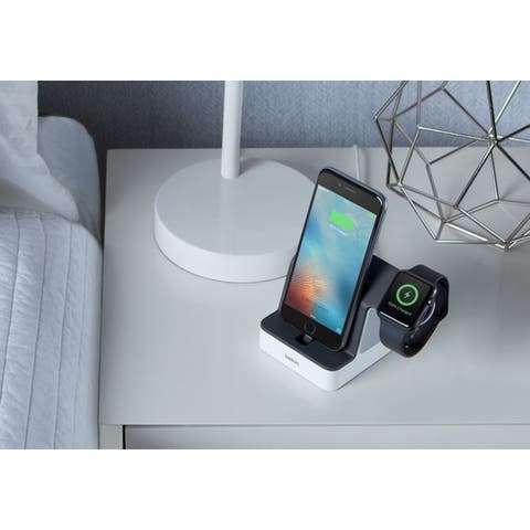 Belkin PowerHouse Charge Dock for Apple Watch + iPhone
