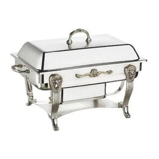 Elegance Silver Plated 8 Qt. Rectangular Chafing Dish