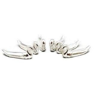 Elegance Silver Plated Swan Knife Rests Set of 6