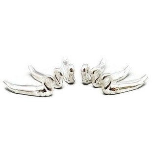 Heim Concept Silver Plated Swan Knife Rests Set of 6