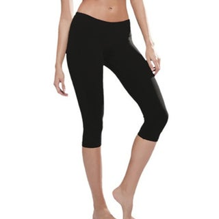 Women's Miracle Toning Capri Black by Skineez Skincarewear
