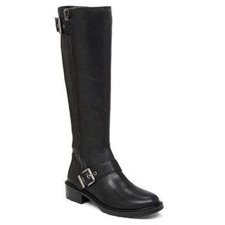 BCBG Women's Shayna Leather Silver-buckle Knee-high Lug-sole Moto Riding Boots|https://ak1.ostkcdn.com/images/products/13738030/P20396174.jpg?impolicy=medium