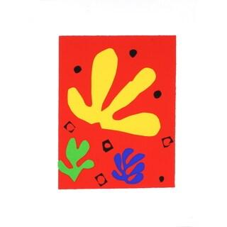 Henri Matisse 'Vegetal Elements' Serigraph