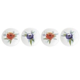Lenox Passion Bloom China Tidbit Plates (Pack of 4)