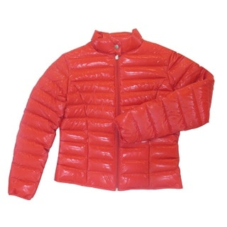 Two by Vince Camuto Red Down Puffer Jacket