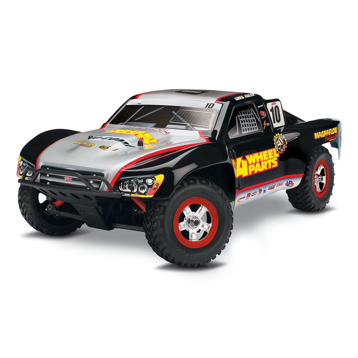Traxxas Slash 4x4, 4WD Short-Course Truck (1/16) (Black &...