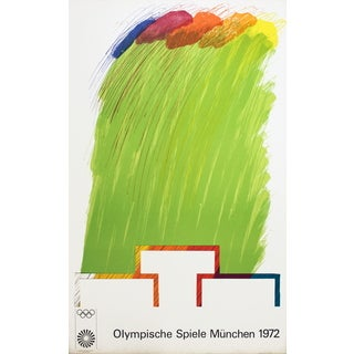 Richard Smith 'Munich Olympics' 1972 Lithograph Poster, 40.25 x 25.25 inches
