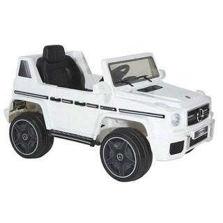 Dynacraft White Mercedes 6V AMG G64