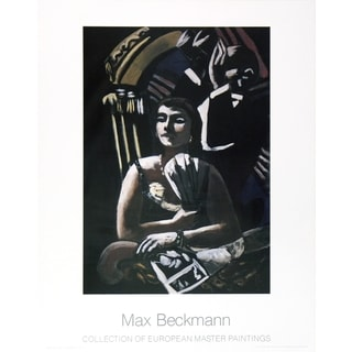 Max Beckmann 'The Loge' Lithograph Poster, 35.5 x 27.5 inches