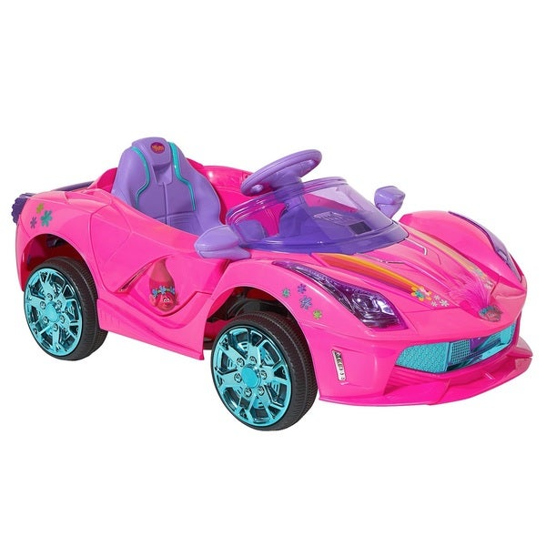 Dynacraft Trolls Pink 6-volt Super Coupe