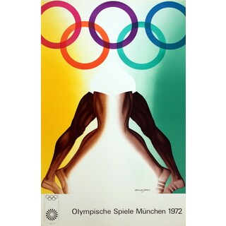Allen Jones '1972 Olympics' Lithograph, 40.25 x 25.25 inches
