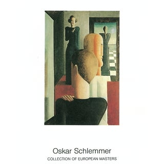 Oskar Schlemmer 'Romisches' Lithographic Poster, 35.5 x 27.5 inches