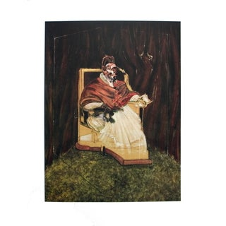 Francis Bacon 'Portrait of Pope Innocent XII' 1995 Poster, 35.5 x 25.5 inches