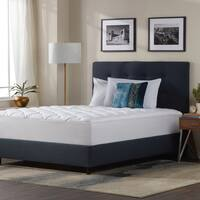 Kotter Home Five-Star Plush Hotel Mattress Pad with Fitted Skirt