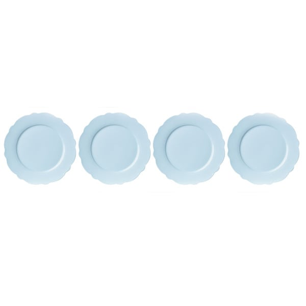 Shop Lenox Butterfly Meadow Solid Blue Porcelain Dinner