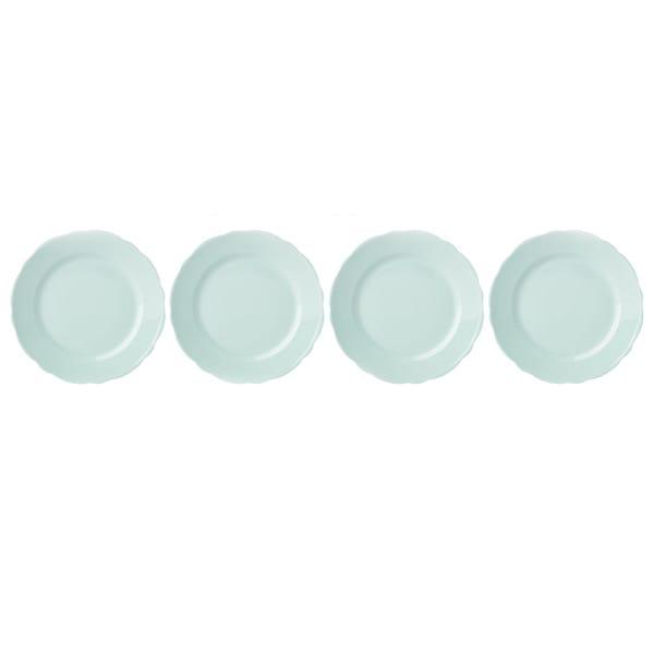 Shop Lenox Butterfly Meadow Solid Green Dessert Plates
