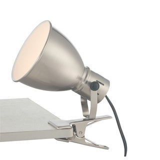 Lite Source 1-Light Kiefer Clip-On Lamp