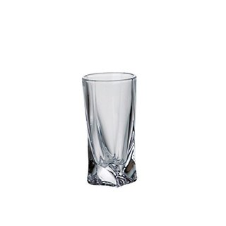 Majestic Gifts Crystalline Glass 1.75-ounce Shot Glass (Pack of 6)
