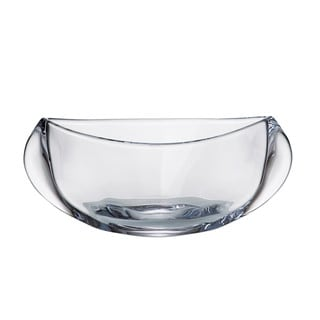 Majestic Gifts Crystalline Clear Glass 12-inch Serving Bowl