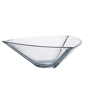 Majestic Gifts Crystalline Glass 12-inch Diameter Bowl