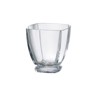 Majestic Gifts Crystalline Clear Glass 10.75-ounce Double Old Fashioned Tumbler (Pack of 6)