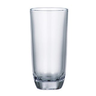 Majestic Gifts Crystalline Glass 10.5 oz. Highball Tumblers (Pack of 6)