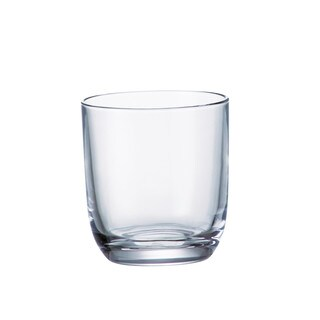 Majestic Gifts Crystalline Glass 9.5-ounce Double Old-fashioned Tumbler (Pack of 6)