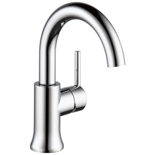 Delta Trinsic Chrome Single Handle High-Arc Bathroom Faucet