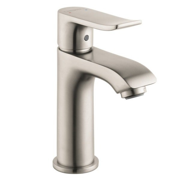 Hansgrohe HG Metris E Brushed Nickel Bathroom Faucet