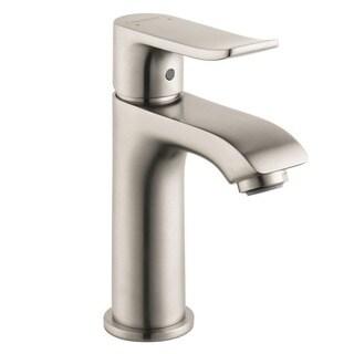 Hansgrohe HG Metris E Brushed Nickel Bathroom Faucet