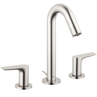 Hansgrohe Logis Brushed Nickel Lever Widespread Faucet