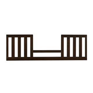 Wakefield Toddler Brown Wood/Metal Guard Rail For Convertible Crib