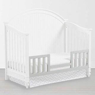 Somerset White Wood Toddler Bed Guard Rail