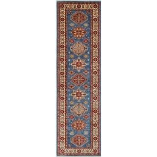 Super Kazak Farida Red/Ivory Rug (2'10 x 10'2)