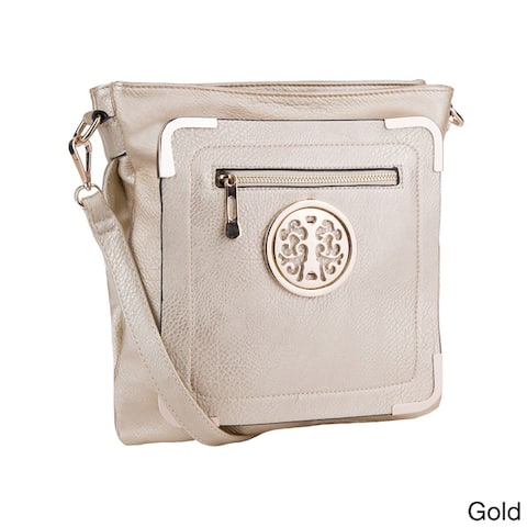 MKF Collection Courier Cross-body Bag by Mia K.