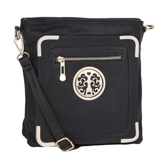 MKF Collection Courier Cross-body Bag by Mia K. Farrow