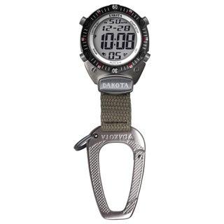 Dakota Watch Men's Digital Sport Carabiner Clip Watch
