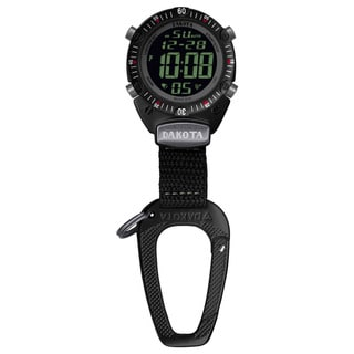 Dakota Watch Men's Digital Sport Carabiner Clip Watch