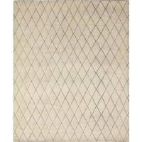Indo Moroccan Sveta Ivory/Grey Rug (8'3 x 10'1)