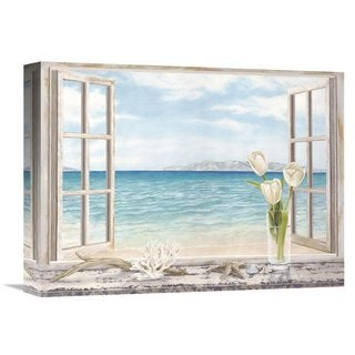 Global Gallery Remy Dellal 'Ocean View' Stretched Canvas Artwork (3 options available)